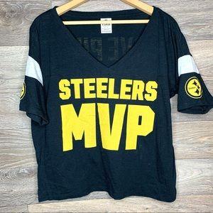 Victoria's Secret PINK Steelers MVP Tee